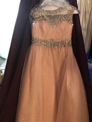 Blush pink dress size 12/14 for Sale in Redlands, CA