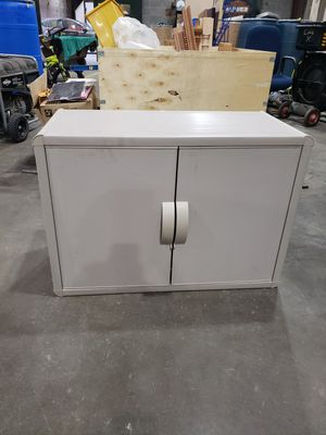 Plastic storage cabinet for Sale in Greensboro, NC