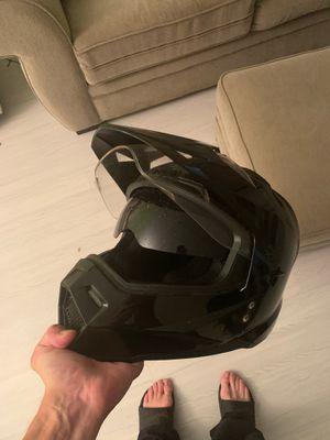Dual sport motorcycle helmet for Sale in SUNNY ISL BCH, FL