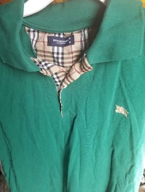 Green Burberry Shirt for Men (100% Authentic) for Sale in Phoenix, AZ