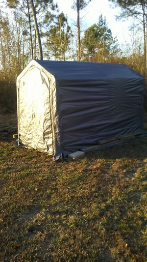 Storage shed tarp like material for Sale in Blounts Creek, NC