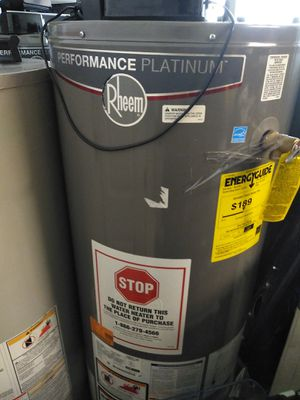 Rheem performance Platinum water heater 40 and 50 gallons available starting at $599 for Sale in Pasadena, CA