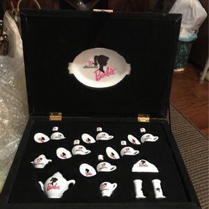 Barbie Porcelain Tea Set for Sale in San Diego, CA