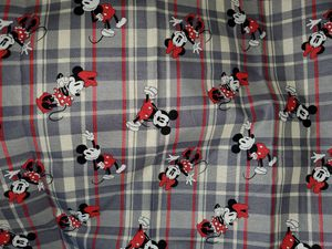 Mickey mouse fabric for Sale in Dixon, MO