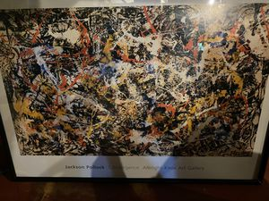 Jackson Pollock print for Sale in St. Louis, MO