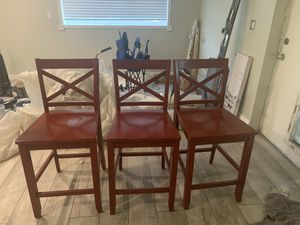 3 Wooden Chairs for Sale in Sandy, UT