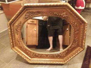 Really beautiful old mirror good condition no for Sale in Murfreesboro, TN
