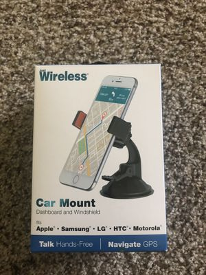 iPhone/Android Car Phone Mount for Dashboard and Windshield for Sale in Randolph, MA