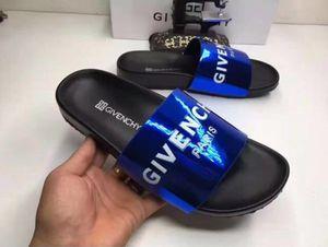 GIVENCHY PARIS Blue Sandal Slides for Sale in Millington, TN