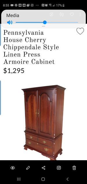 Pa. House Retired Armoire for Sale in Northumberland, PA