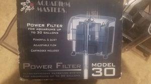 Power filter Model 30 new for fish aquarium for Sale in Pomona, CA