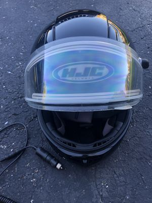 New never worn snowmobile helmet with heated shield and GoreTex gloves for Sale in Waukegan, IL
