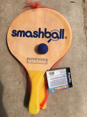 Brand new Smashball game. 2 paddles and 1 ball. for Sale in Vista, CA
