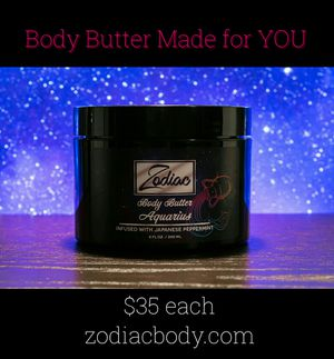 Zodiac Body Butter made for your specific zodiac sign for Sale in St. Louis, MO