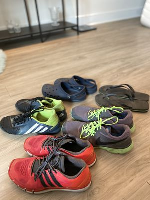 $100 for ALL Nike+Adidas+Crocs for Sale in Tampa, FL