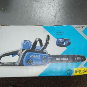 "Kobalt 12"" 40v Cordless Chainsaw, Includes Battery & Charger for Sale in Fort Lauderdale, FL"