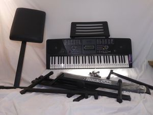 Rock Jam 561 Digital Keyboard W/Stand and Seat for Sale in Bristol, TN
