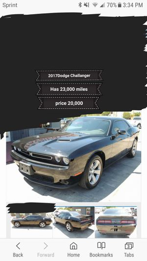 2017 Dodge Challanger sxt for Sale in San Angelo, TX