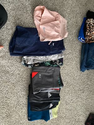 Lot of women's workout bottoms for Sale in Rancho Cucamonga, CA