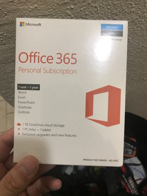 Microsoft office subscription for Sale in San Antonio, TX