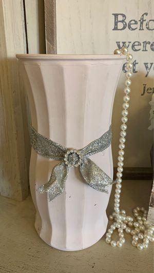 Pink Chalk Vase for Sale in Bakersfield, CA