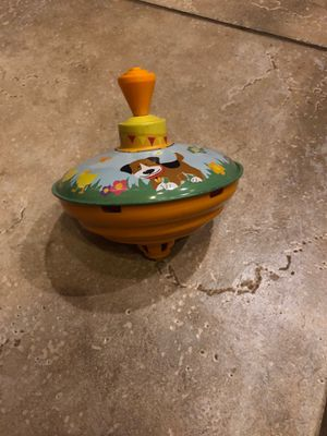 Metal spinning top - Toddler / Baby Toy - FREE for Sale in St. Charles, IL