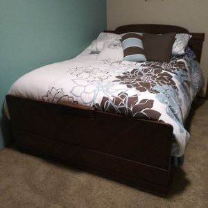Full Size Antique Bedroom Set for Sale in Kent, WA