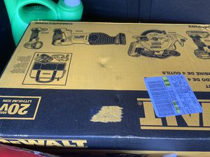 DeWalt 20v Sawzall, Drill, Circular saw, & Light for Sale in Tampa, FL