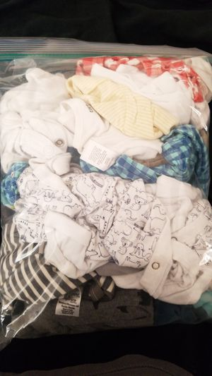 0-6 months baby clothes for Sale in Washington, DC