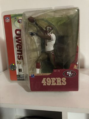 TERRELL OWENS ACTION FIGURE 49ers!! for Sale in Odenton, MD