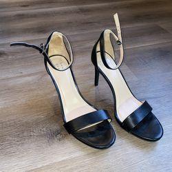 Women's size 9.5 Black Dress Casual Heels for Sale in Bloomington,  IL