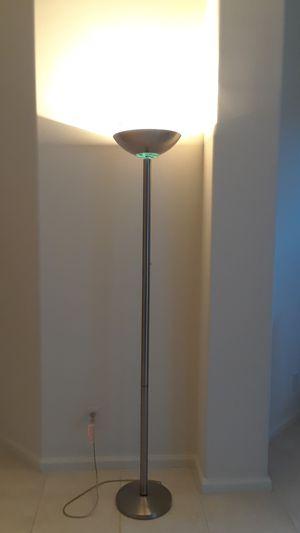 Stainless steel floor lamp for Sale in Delray Beach, FL