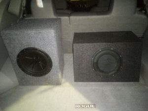 Two 10 inch subwoofers for Sale in Bartow, FL