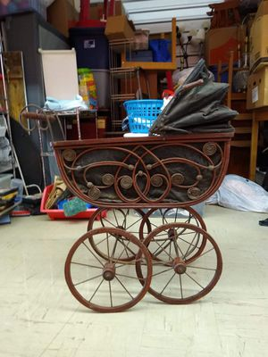 Antique Baby Doll Carriage for Sale in Tacoma, WA