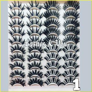 40 Mink Lashes 20 Pairs Eyelashes for Sale in Santa Ana, CA