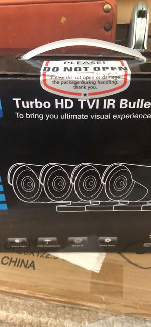 Turbo HD TVI IR Bullet Home Security Camera for Sale in Lancaster, OH