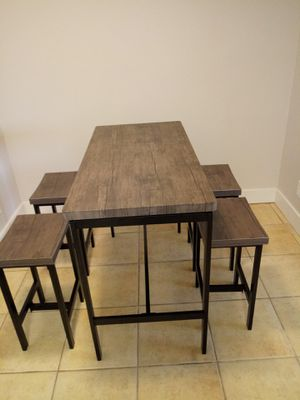 New dining table set with chairs in box for Sale in Phoenix, AZ