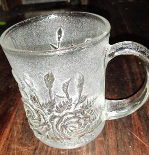Pasari Crystal Livia Clear collection glass mugs for Sale in Tampa, FL