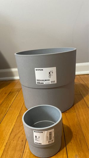 Nypon IKEA pair plant pot for Sale in St. Louis, MO
