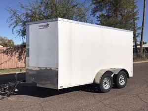2017 Enclosed trailer (7' by 12') for Sale in Phoenix, AZ