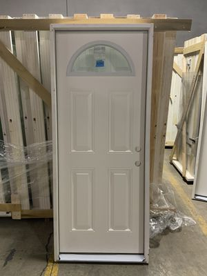 "Exterior Fiberglass Door 32"" x 80"" for cheap for Sale in Orient, OH"