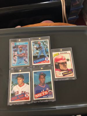 BASEBALL cards LOT for Sale in East Los Angeles, CA