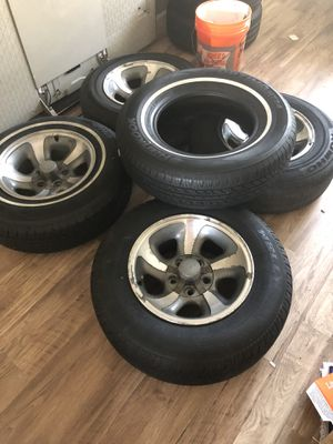 """Rims and tires 15"""" for Sale in Columbus, OH"""