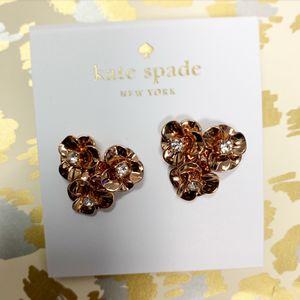 KATE SPADE ♠️ ROSE GOLD EARRINGS for Sale in Lynn, MA