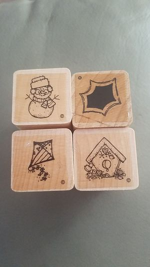 """Set of 4 stamps 1"""" x 1"""" for Sale in Clearwater, FL"""