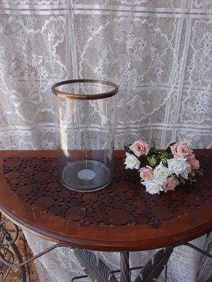 "Christmas candle holder 10""h for Sale in Fresno, CA"