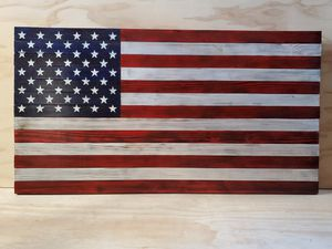 Rustic American Flag for Sale in East Peoria, IL