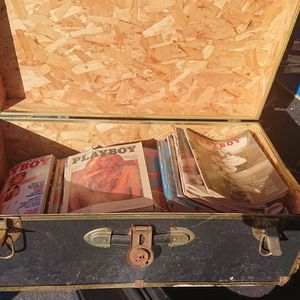 Chest Of Vintage Playboy Magazines for Sale in Los Osos, CA