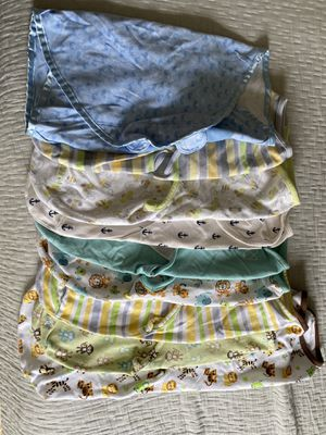 Baby swaddles 8 small / 1 large for Sale in San Diego, CA