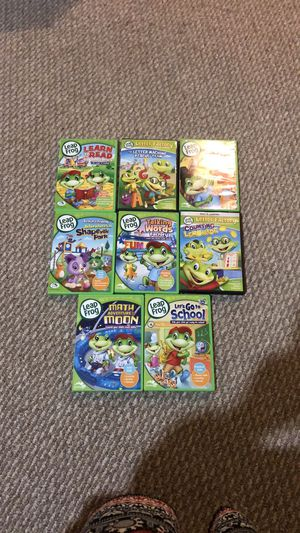8 Leap Frog learning DVD's💝 for Sale in Springfield, VA